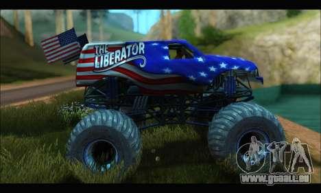 Monster The Liberator (GTA V) für GTA San Andreas