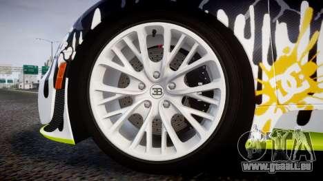 Bugatti Veyron Super Sport 2011 [EPM] Ken Block für GTA 4 Rückansicht