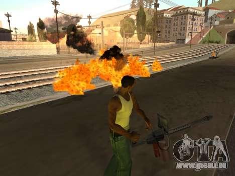 Effects by Lopes 2.2 New pour GTA San Andreas deuxième écran