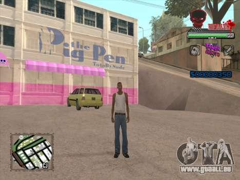 C-HUD by VinC pour GTA San Andreas troisième écran