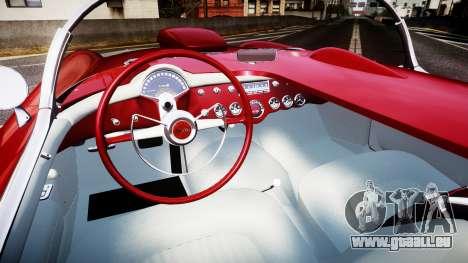 Chevrolet Corvette C1 1953 race pour GTA 4 Vue arrière