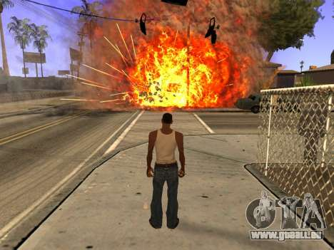 New Realistic Effects 4.0 Full Final Version pour GTA San Andreas quatrième écran