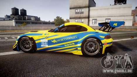 BMW Z4 GT3 2012 Northwest pour GTA 4 est une gauche