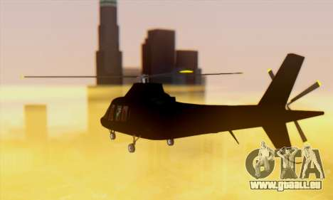 Swift GTA 5 pour GTA San Andreas vue intérieure