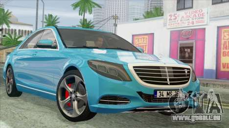 Mercedes-Benz S350 2015 Bluetec für GTA San Andreas