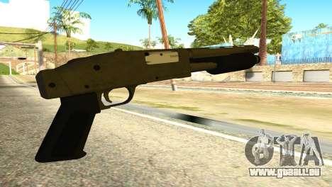 Sawnoff Shotgun from GTA 5 pour GTA San Andreas deuxième écran