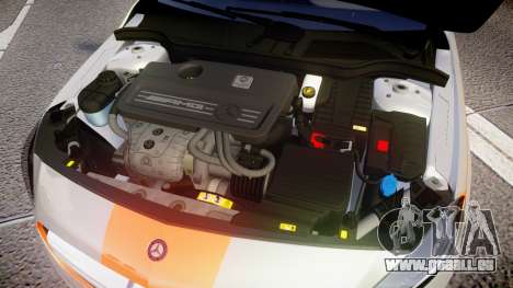 Mersedes-Benz A45 AMG PJs3 pour GTA 4 est une vue de l'intérieur