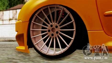Peugeot 206 Camber Style für GTA San Andreas zurück linke Ansicht