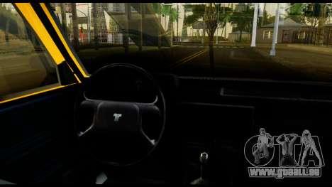 Tofas Sahin pour GTA San Andreas vue arrière