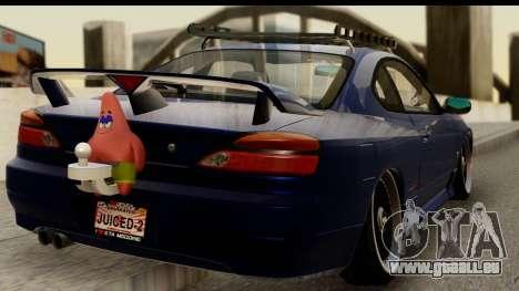 Nissan Silvia S15 Camber Edition für GTA San Andreas linke Ansicht