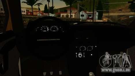 VAZ 2112 für GTA San Andreas zurück linke Ansicht