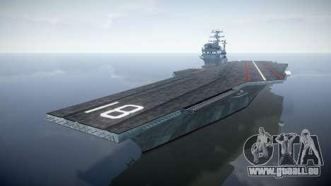 USS Flysenhower pour GTA 4
