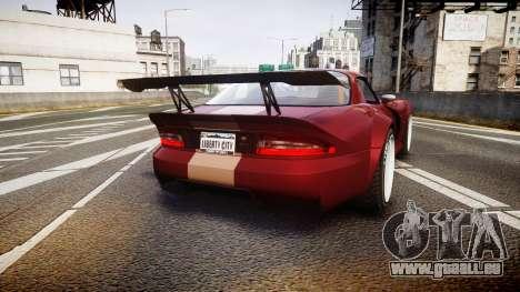 Bravado Banshee GTA V Style für GTA 4 hinten links Ansicht