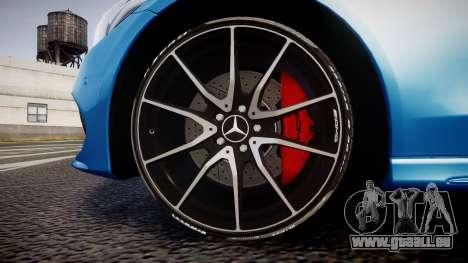 Mercedes-Benz C250 AMG (W205) 2015 pour GTA 4 Vue arrière