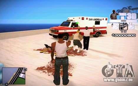 HUD 3D pour GTA San Andreas troisième écran