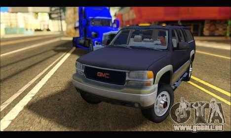GMC Yukon XL 2003 pour GTA San Andreas