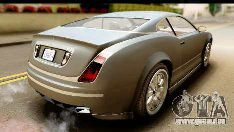 GTA 5 Enus Cognoscenti Cabrio SA Mobile für GTA San Andreas zurück linke Ansicht
