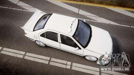 Peugeot 406 Taxi [Final] für GTA 4 rechte Ansicht