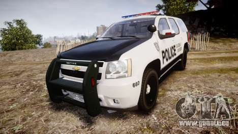 Chevrolet Tahoe 2010 Sheriff Dukes [ELS] für GTA 4