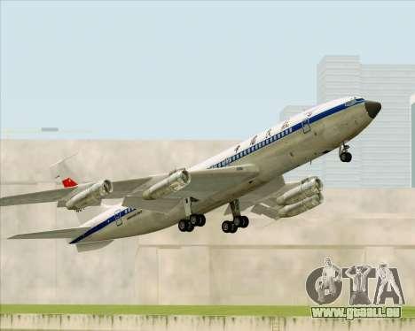 Boeing 707-300 CAAC pour GTA San Andreas vue de côté