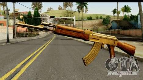 New AK47 pour GTA San Andreas