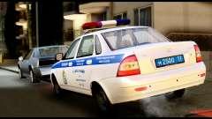 VAZ 2170 LA POLICE DE LA CIRCULATION
