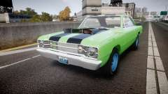 Dodge Dart HEMI Super Stock 1968 rims3