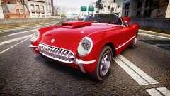 Chevrolet Corvette C1 1953 race