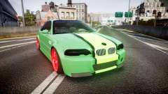 BMW M3 E46 Green Editon