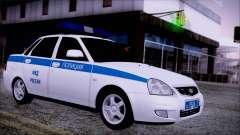 Lada Priora 2170 Polizei von der MIA Russland