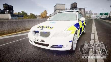 BMW 325d E91 2009 Sussex Police [ELS] für GTA 4
