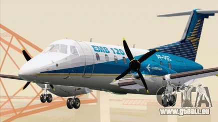 Embraer EMB 120 Brasilia Embraer Livery pour GTA San Andreas