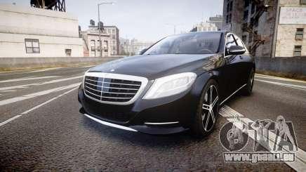 Mercedes-Benz S500 W222 pour GTA 4