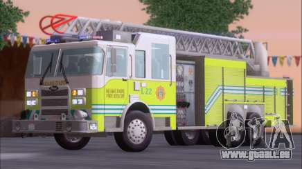 Pierce Arrow XT Miami Dade FD Ladder 22 für GTA San Andreas
