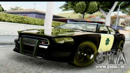 GTA 5 Buffalo S Police SF für GTA San Andreas