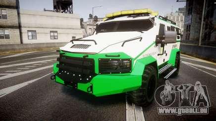 Gruppe6 Van [ELS] pour GTA 4