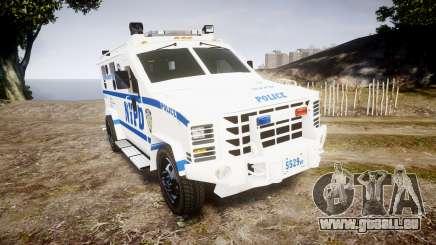 Lenco BearCat NYPD ESU [ELS] pour GTA 4