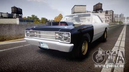 Dodge Dart HEMI Super Stock 1968 rims1 für GTA 4