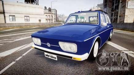 Volkswagen 1600 Variant 1973 pour GTA 4