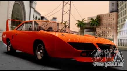 Plymouth Roadrunner Superbird RM23 1970 HQLM pour GTA San Andreas