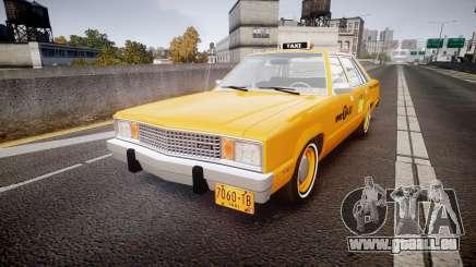 Ford Fairmont 1978 Taxi v1.1 für GTA 4