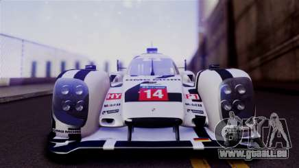 Porsche 919 Hybrid 2014 für GTA San Andreas