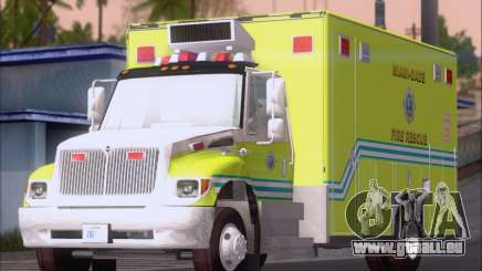 Pierce Commercial Miami Dade Fire Rescue 12 für GTA San Andreas