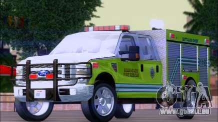Ford F350 XLT Super Duty MDFD Batalion Chief 12 für GTA San Andreas