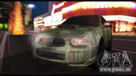 Subaru Impreza WRX Camo pour GTA San Andreas