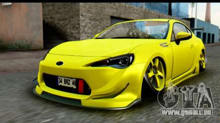 Subaru BRZ 2013 pour GTA San Andreas