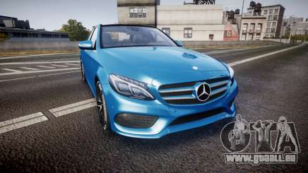 Mercedes-Benz C250 AMG (W205) 2015 pour GTA 4