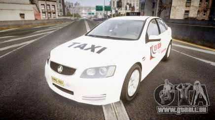 Holden Commodore Omega Queensland Taxi v3.0 pour GTA 4
