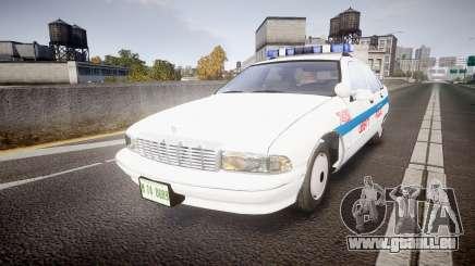 Chevrolet Caprice Liberty Police [ELS] pour GTA 4