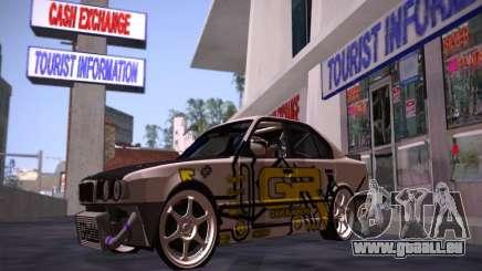 BMW M5 E34 Grip Runners Team pour GTA San Andreas